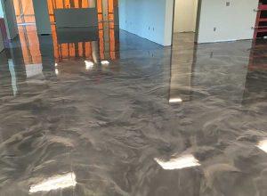 mcaleer-epoxy-floor-coatings-for-showroom-metallic-epoxy-application-daphne-fairhope-spanish-fort-alabama
