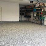 mcaleer-epoxy-garage-floor-with-fleck-non-skid-application-baldwin-county-alabama-service-area
