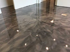 mcaleer-metallic-epoxy-floor-coating-kitchen-application-waterproof-new-or-existing-home-application-over-concrete-south-alabama