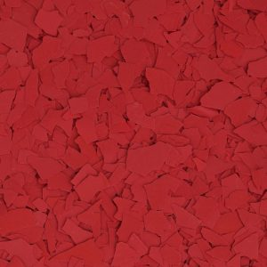 mcaleer-epoxy-garage-floor-color-bright-red-flakes-eastern-shore-alabama